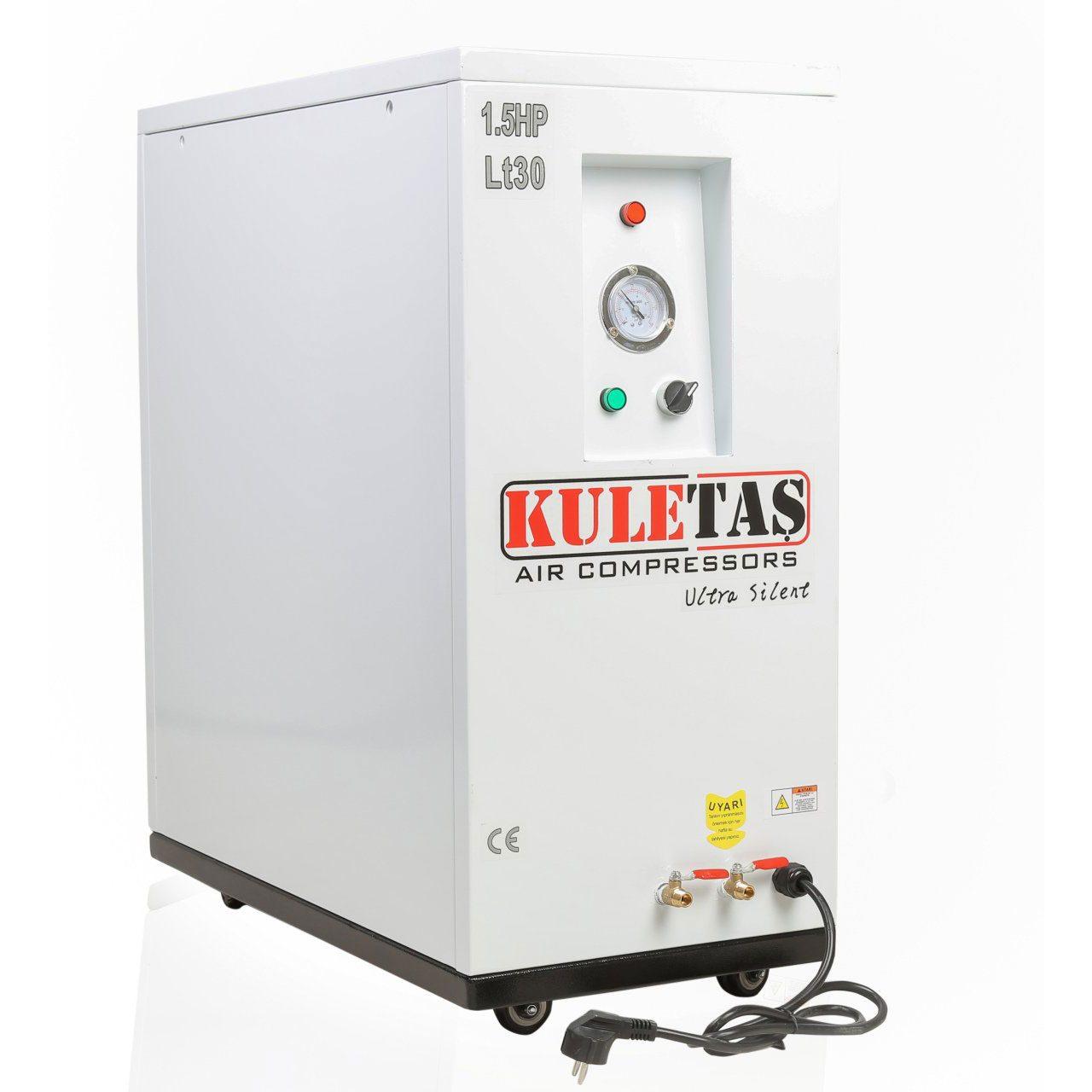 Kuletaş Kabinli Ultra Sessiz Kompresör 30 Litre