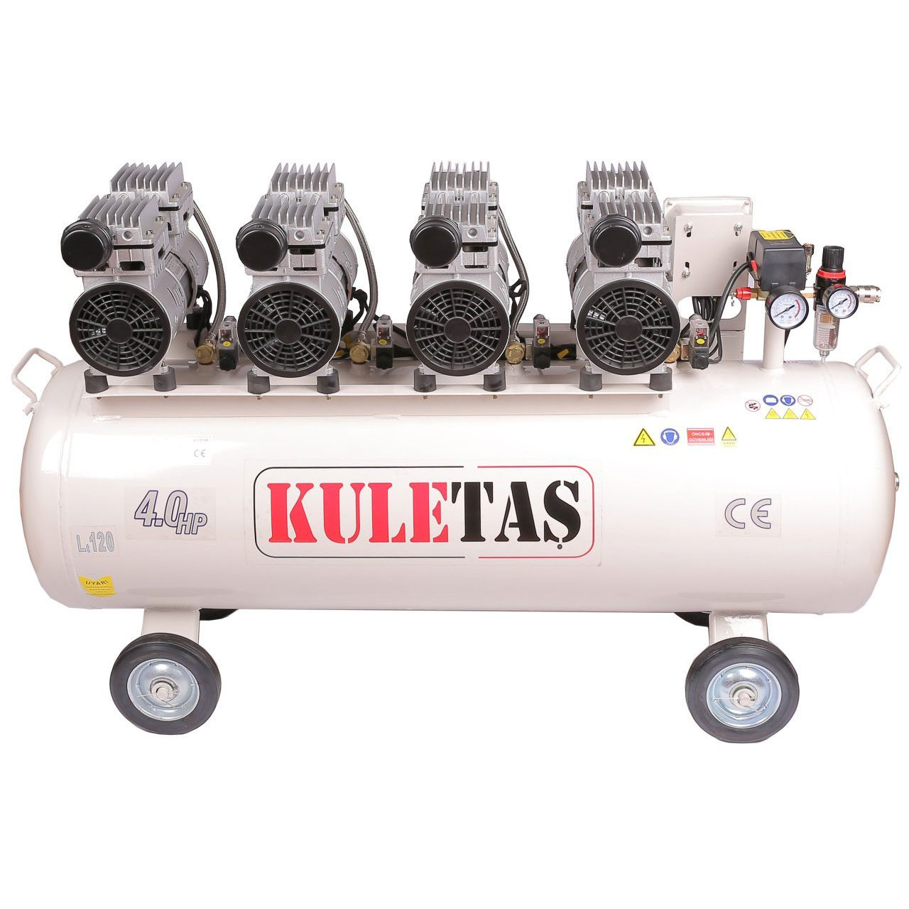 Kuletaş-Süper-Sessiz-Yağsız-Kompresör-120-Litre-4HP
