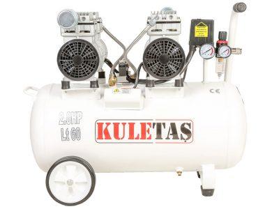 Kuletaş-Süper-Sessiz-Yağsız-Kompresör-60-Litre-Çift-Motor